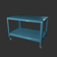 3d model ikea coffee table