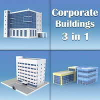 corporate buildings 01 max