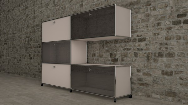 3d usm modular furnitures model - USM - Modular Furniture  Collection Vol. 2... by BenJaun