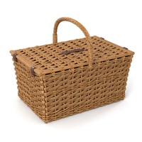 Rattan Wicker Basket