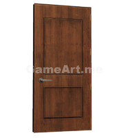 3d max ready wooden door
