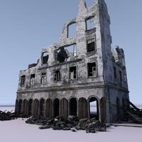 WW2 Ruin 005