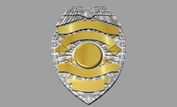 police shield 3dm
