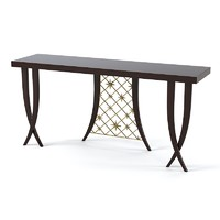 Christopher Guy 76-0075  Chris-x luxury console table modern