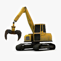 crawler excavator demolition machine