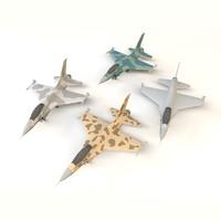 3d model f-16 plane games