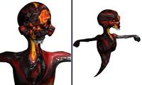 3d model lava ghoul