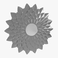 leaf mirror 3d 3ds