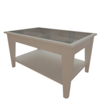 3d model ikea liatorp table