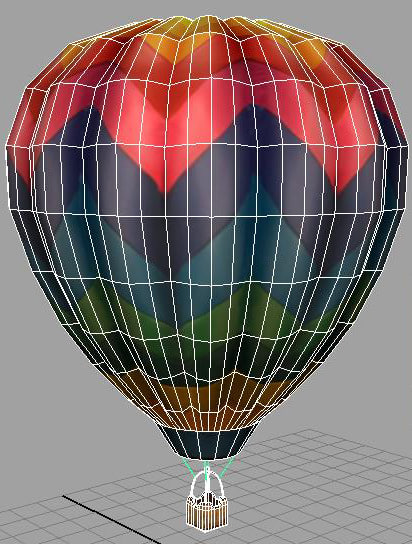 hot air balloon model how to make