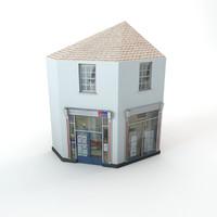 corner estate agent obj