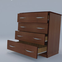 chest drawers obj free