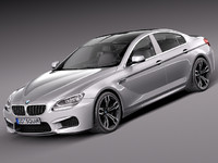bmw 6 grand coupe 3d max