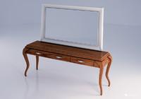 3d model of dresser set