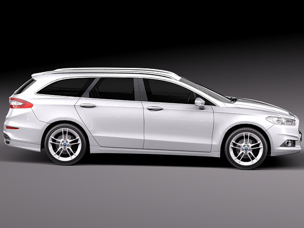 3d subaru impreza 2013 wagon model - Ford Mondeo 2013 wagon... by squir