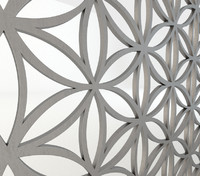 Fretwork screen