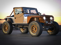 3d jeep cj 7 crawler