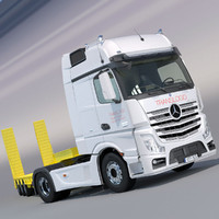3d model of mercedes actros 2012 mp4