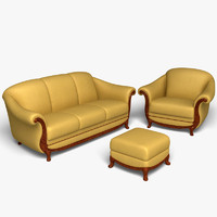 Natuzzi Furniture Set 9302