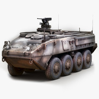 stryker icv 3d model