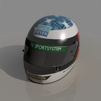 3ds max michael schumacher 1994 helmet