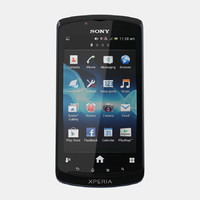 3d model of sony xperia neo l