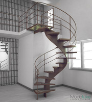3d max spiral stairs