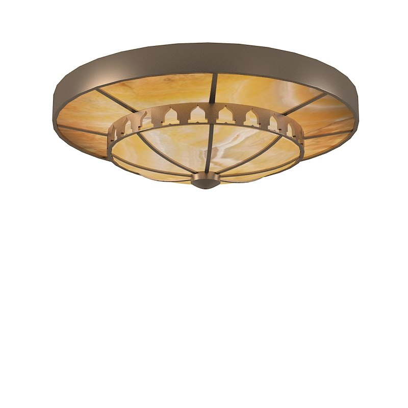 Industrial Ceiling Light 3ds Max: 3ds Max Traditional Ceiling Light