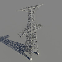 power pylon 3d model