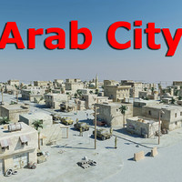3d model of arab city