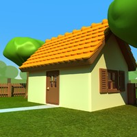 cartoon house 001