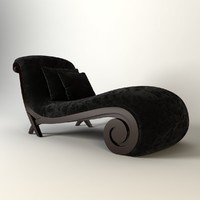 3d model christopher guy chaise