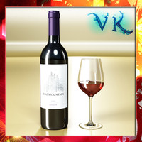red wine bottle fog 3d 3ds