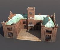 castle 3d max