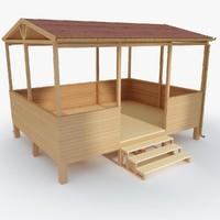 terrace wood 03 max