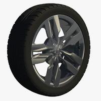 wheel sport s6 rim 3d model
