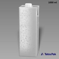 tetrapack 1000ml obj