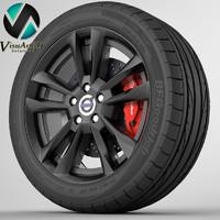 Wheel Volvo S60 3