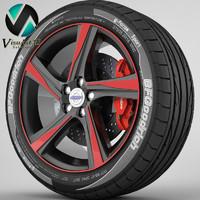Wheel Volvo S60 7