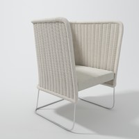 maya wicker chair