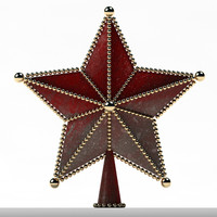 Ornaments Star Treetop