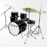 3dsmax drum kit