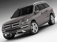 mercedes gl 2013 3ds