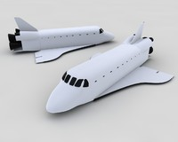 space shuttle columbia 3d model
