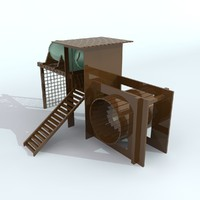 1 playgroundset 2011 3d model