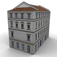 3d model building s