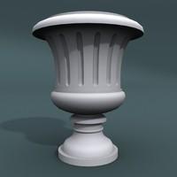 designed pottery 3d model