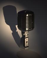 3d microphone shure 55sh model