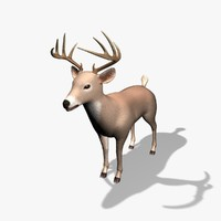 deer 3d 3ds