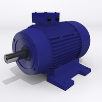 3d electric motor model